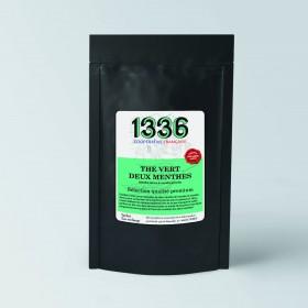Thé vert aux deux menthes
