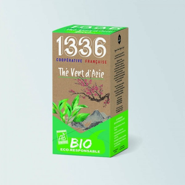 Thé Vert d'Asie Bio